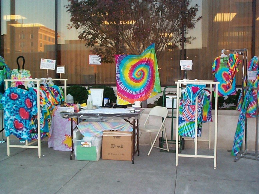 This is my booth from the Downtown Columbia Twilight Festival, It was lots of fun